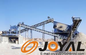 时产180-200吨碎石生产线